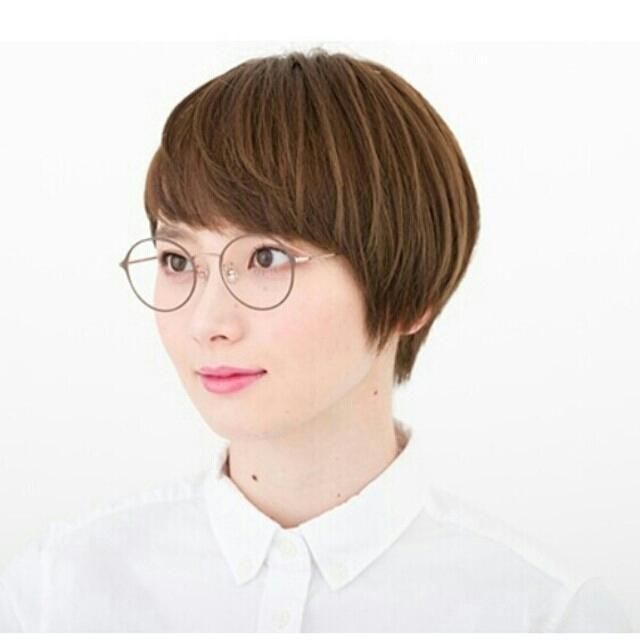 Zoff(ゾフ)のzoff ラウンドメガネ レディースのファッション小物(サングラス/メガネ)の商品写真