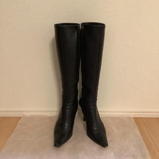 ダイアナ(DIANA)のダイアナ ロングブーツ 黒(ブーツ)