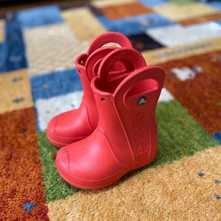 crocs - クロックス レインブーツ 13-14cm