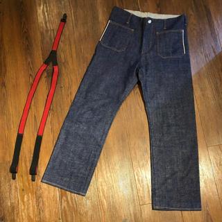 サンシー(SUNSEA)のSUNSEA 18SS TEKE TEKE DENIM PANTS サイズ1(デニム/ジーンズ)