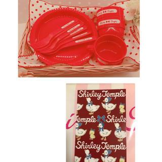 シャーリーテンプル(Shirley Temple)のシャーリーテンプル ピクニック ノベルティ あひる ひよこ ポストカード(食器)