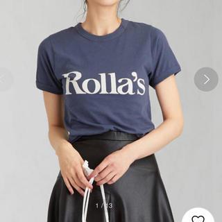 EDIT.FOR LULU - 土日限定 お値下げ Rolla's ローラス  ロゴTシャツ
