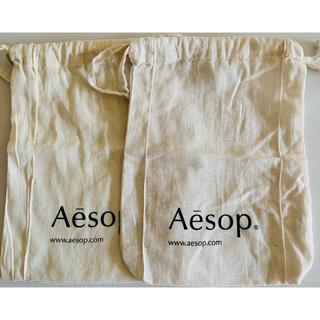 Aesop - Aesop イソップ 巾着2枚 紙袋 サンプルセット