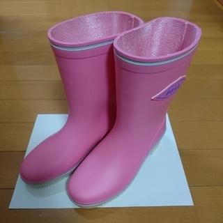 アサヒシューズ - 長靴 21㎝ ASAHI ピンク