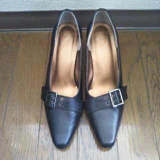 女性用 パンプス 黒 24cm(ハイヒール/パンプス)