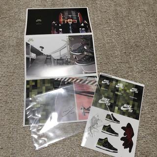 ナイキ(NIKE)のNIKE SB 竜神 ナイトレイド SB ポストカード & ステッカー(スケートボード)