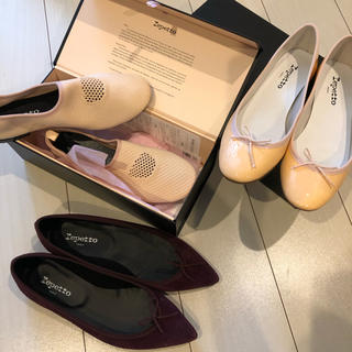 repetto - レペット新品三点セット★39サイズ★24.5〜24.7