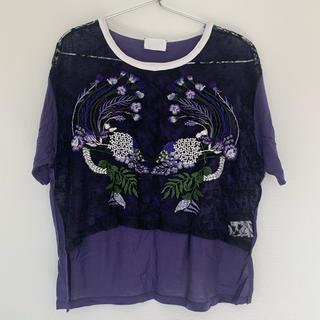 マメ(mame)のmameTシャツ(Tシャツ(半袖/袖なし))