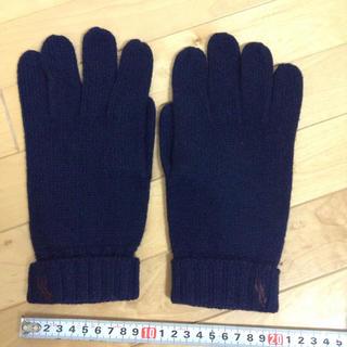 ラルフローレン(Ralph Lauren)の極美品♡ラルフローレンのメンズ手袋(手袋)