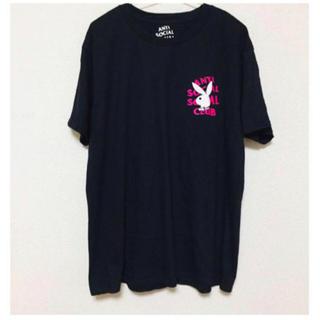 アンチ(ANTI)のANTI SOCIALSOCIALCLUB PLAY BOY コラボ Tシャツ(Tシャツ/カットソー(半袖/袖なし))