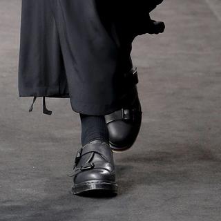 ヨウジヤマモト(Yohji Yamamoto)のyohjiyamamoto 19ss ダブルモンクシューズ(ドレス/ビジネス)
