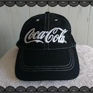 コカコーラ(コカ・コーラ)のコカ・コーラの半キャップ【新品未使用】(キャップ)