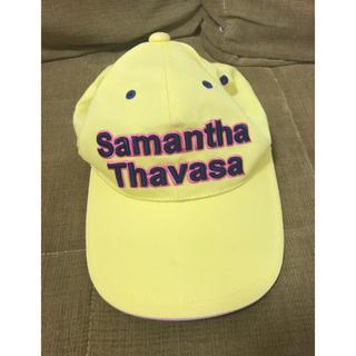 サマンサタバサ(Samantha Thavasa)のサマンサタバサ ゴルフ 帽子(キャップ)