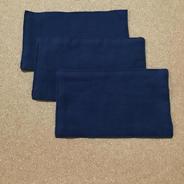 マスク作り | インナーますく 3枚組 紺の通販