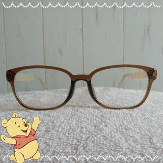 ゾフ(Zoff)のプーさんのメガネ【新品未使用】(サングラス/メガネ)