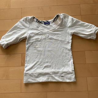 バーバリーブラックレーベル(BURBERRY BLACK LABEL)のBurberry(Tシャツ(半袖/袖なし))