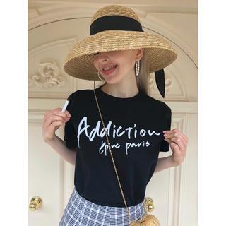 ロキエ(Lochie)のépine Tシャツ addiction tee black エピヌ(Tシャツ(半袖/袖なし))