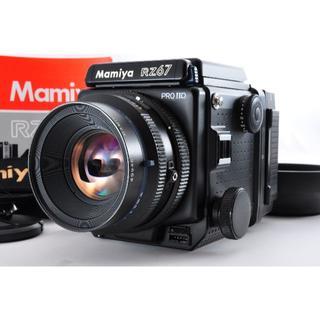 マミヤ(USTMamiya)のレア Mamiya RZ 67 Pro II D , 110mm W #1189(フィルムカメラ)