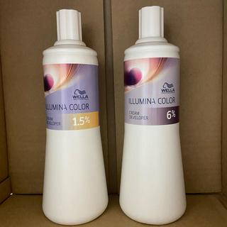 ウエラ(WELLA)のイルミナ クリームディベロッパー 8本セット(カラーリング剤)