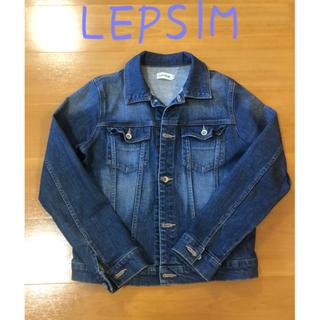 レプシィム(LEPSIM)の[服処分のため、送料と手数料のみ!お得です] LEPSIM デニムジャケット(Gジャン/デニムジャケット)