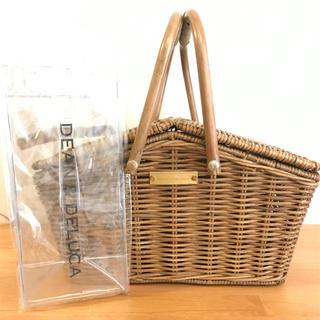 ディーンアンドデルーカ(DEAN & DELUCA)のDEAN&DELUCA バスケット ワインアイスバッグ付き(バスケット/かご)