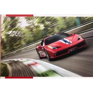 フェラーリ(Ferrari)の究極のフェラーリ458スペチアーレ カタログ ハードカバー(カタログ/マニュアル)