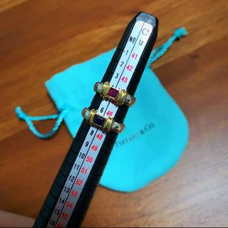ティファニー(Tiffany & Co.)のヴィンテージ ティファニー サファイアリング(リング(指輪))