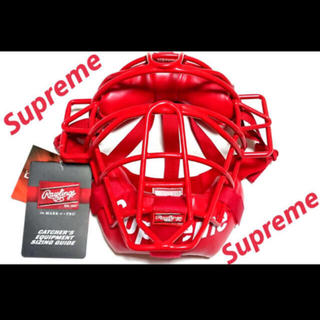 シュプリーム(Supreme)のsupreme Rawlings Catcher's Mask Red(防具)