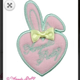 Angelic Pretty - Happiness Bunnyクリップ  ピンク