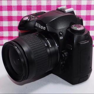 ニコン(Nikon)の⭐相棒と出掛けよう⭐Nikon D70 レンズキット・安心保証(デジタル一眼)