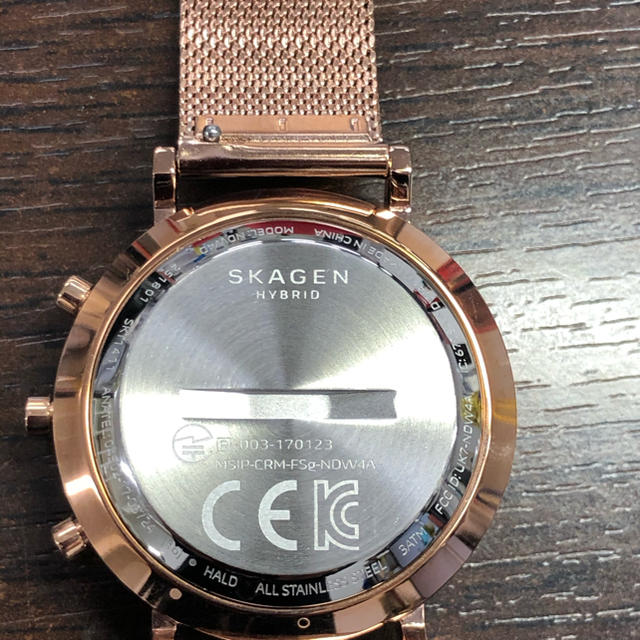 SKAGEN(スカーゲン)のSKAGEN スマートウオッチレディス レディースのファッション小物(腕時計)の商品写真