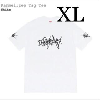 シュプリーム(Supreme)のSupreme Rammellzee tag tee Tシャツ(Tシャツ/カットソー(半袖/袖なし))