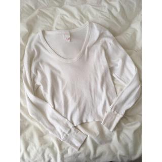 ロキエ(Lochie)のwhite tops ♡(Tシャツ(長袖/七分))