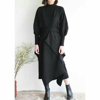 エンフォルド(ENFOLD)のEnfold PEジョーゼットデザインドレス(ロングワンピース/マキシワンピース)