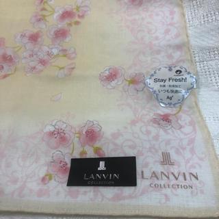 ランバンコレクション(LANVIN COLLECTION)のLANVIN COLLECTION ランバン コレクション ハンカチ 桜の柄(ハンカチ)