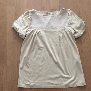 ノンブルアンベール(nombre impair)の半袖切替カットソー(カットソー(半袖/袖なし))