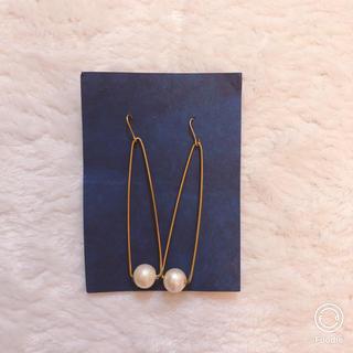 ✦美品✦ 真鍮 コットンパール ピアス(ピアス)