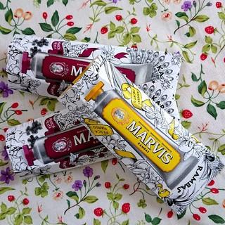 マービス(MARVIS)の《限定品》MARVIS マービス 3本セット(歯磨き粉)