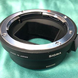 シグマ(SIGMA)のSIGMA マウントコンバーター 「MC-11」 キヤノン⇔ソニーEマウント(ミラーレス一眼)