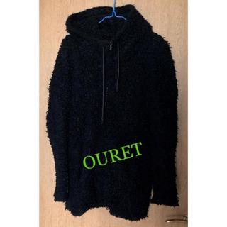 オーレット(OURET)のオーレット ウール100%  フード付き ブルゾン(ブルゾン)