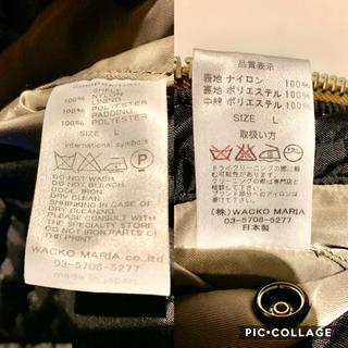 ワコマリア(WACKO MARIA)の【★レア物★】WACKO MARIA(ワコマリア)|MA-1 ジャケット(ミリタリージャケット)
