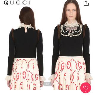 グッチ(Gucci)の今だけ⭐️早い者勝ち⭐️グッチ ゴースト ミケーレ スカート(ロングスカート)