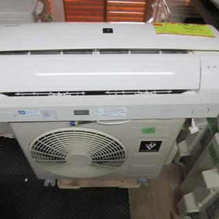 SHARP - K1180 シャープ 中古エアコン 主に6畳用 冷2.2kw/暖2.2kw