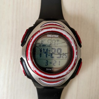 電波ソーラー腕時計ジャンク品(腕時計(デジタル))