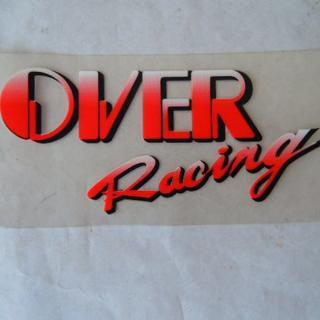 OVER Racing ステッカー(カッティングシート) (ステッカー)