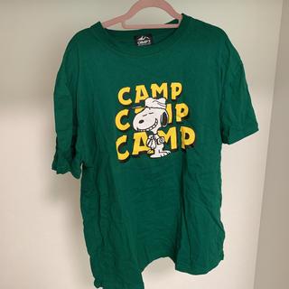 ライトオン(Right-on)のCAMP7 スヌーピー Tシャツ(Tシャツ/カットソー(半袖/袖なし))