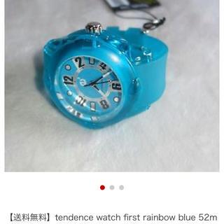 テンデンス(Tendence)のテンデンス クリアカラー ブルー(腕時計(アナログ))