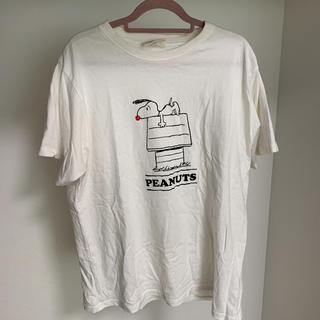 コーエン(coen)のcoen スヌーピーTシャツ(Tシャツ/カットソー(半袖/袖なし))