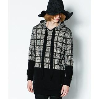 シャリーフ(SHAREEF)の¥27500 SHAREEF LATTICE CHECK PARKA(パーカー)