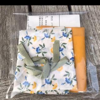ミナペルホネン(mina perhonen)のチェックアンドストライプ  あめちゃん巾着 キット リバティ(型紙/パターン)